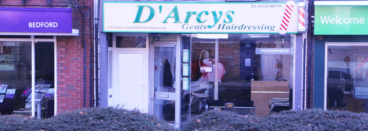 D'Arcys Gents barbers Bedford